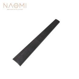 Discount violin fingerboard - NAOMI 1 2 Violin Fingerboard Ebony Wood Fingerboard For 1 2 Size Violin New Violin Parts Accessories