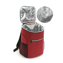 Picnic Bags 20l Big Cooler Bag 600d Oxford Thermo Lunch Picnic Box Insulated Cool Backpack Ice Pack Fresh Carrier Thermal Shoulder Bags