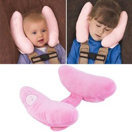Wholesale Soft Baby Stroller Pillows Infant Car Trip Portable Innovative Products Boys Girls Head Support Travel Neck Pillow