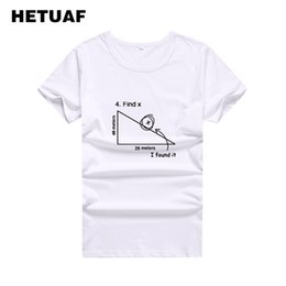d0b663392 Women's Tee Hetuaf 2019 Novelty Math Graphic Tees Women Funny Printed  Tumblr T Shirt White Women's Cool Hipster Women T-shirt Femme Big Size