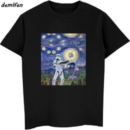 $enCountryForm.capitalKeyWord Australia - Funny Star The Traitor Stormtrooper The Scream Parody T-shirt Men Cotton Short Sleeve Tees Tops Shirt Boyfriend Gift