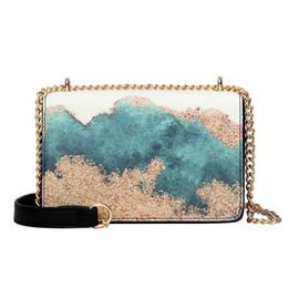 $enCountryForm.capitalKeyWord Australia - womens brand bag women's embroidery handbag fashion oil painting shoulder bag chain messenger 2019 new painted Party package