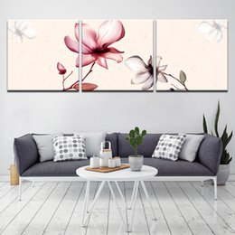 Art Canvas Prints Australia - Flower Poster Wall Art Prints Flower Canvas Painting Modern Poster Picture Wall Painting For Living Room No Frame