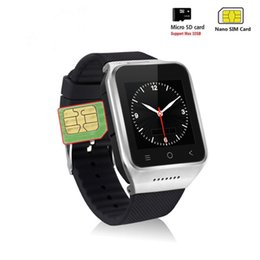 wcdma 3g smart watch Australia - Android Smart Watch Phone 3G WIFI Android 5.1 OS 1.3GHZ Dual Core CPU 1.54inch Touch Screen 2.0MP Camera Phone Watch WCDMA Drop Ship