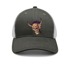 $enCountryForm.capitalKeyWord Australia - Band five finger death punch skull devil army-green mens and women trucker cap ball cool fitted running hats