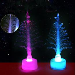 $enCountryForm.capitalKeyWord Australia - Merry LED Light Color Changing Mini Christmas Xmas Tree Home Table Party Decor Charm Drop Ornaments for kids gift
