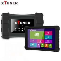 Heavy Duty Engine NZ - XTUNER T1 V8.0 Heavy Duty Truck Diagnostic Tool Wifi HD Scanner Airbag ABS Diesel Truck Scanner Tool Tablet Upgrade VPECKER T1