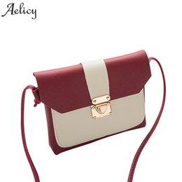 Cheap Aelicy Leather Flap Bag Women Messenger Bags for girls Luxury  Handbags Women Bags Designer Shoulder Bag Vintage bolsa feminina a5b5fab1a1733