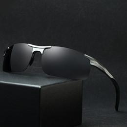 $enCountryForm.capitalKeyWord NZ - Driving Glasses for Men Polarizing Sunglasses vintage Rimless Anti-Glare Night Vision Glasses Goggles Male Eyewear UV400