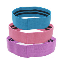 Yoga Tension Belt Pull Rope Esercizio Sport a forma di bande di resistenza in palestra Set Loop Latex Forza Leg Training