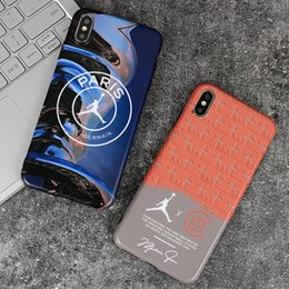 Iphone6 Iphone Australia - Wholesale Designer Fashion Brand Paris Phone Case for IPhone 8Plus 7 Plus XSMAX XR XS X 6 6s IPhone6 6s Plus IPhone7 IPhone 8 2 Color