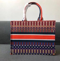 Wholesale 2019 New Women s Fashion bags Totes Bag Handbag Handbags Canvas Totes Purse Large Shopping Bag With