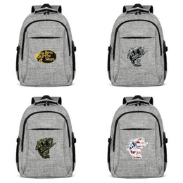 $enCountryForm.capitalKeyWord NZ - Bass pro shop logo Fashion Traveling Backpack, Design Pop Character Reusable Suitable for Outdoor Backpack Bass Pro Shop fishing gray 3D