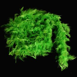 turkey feather boas NZ - Cheap Feather Boa Turkey Feather Boa Marabou Boa for Wedding Many Color Party Decoration for Sale Festive Decoration Chandelle Feather