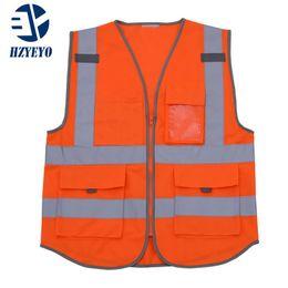 $enCountryForm.capitalKeyWord Australia - HZYEYO Motorcycle High visibility reflective safety vest, reflex safety workwear,Safe in Night Reflective Work clothing D9903