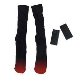 Electric Hot Warmer Australia - 1 Pair Battery Heated Hot Boot Socks Feet Foot Warmer Electric Heater Gifts YS-BUY