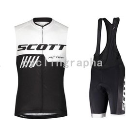 $enCountryForm.capitalKeyWord NZ - SCOTT Men summer cycling Sleeveless Jersey bib shorts set quick dry breathable mountain bike clothing road bicycle sport suit Y062405
