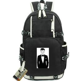 $enCountryForm.capitalKeyWord Australia - Justin Timberlake day pack JT daypack Sexy back music schoolbag Hot packsack Laptop rucksack Sport school bag Out door backpack