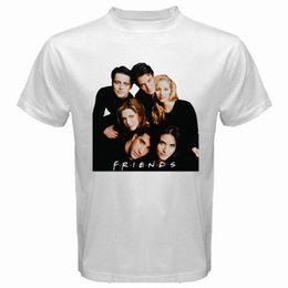 Best Shown UK - New FRIENDS 90's Best TV Series Show Men's White T-Shirt Size S to 3XLMen Women Unisex Fashion tshirt Free Shipping