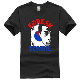 20bb46b3 Find Similar 2018 New Summer T-shirts New The Korean Zombie - Chan Sung  Jung black T-shirt size S to 2XL Cotton Tees Free Shipping
