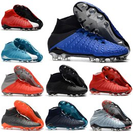 4254041d3a6d Mens High Ankle Football Boots EA Sports Hypervenom Phantom III DF FG  Soccer Shoes Neymar ACC Superfly Hypervenom II Original Soccer Cleats