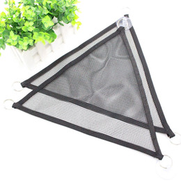 Wholesale 2 Pcs Set Pet Mesh Hammock with Suction Cup Play Toys Swing Nylon Climb Animal Sleeping Bed For Reptile Snake Lizard Pet Product DBC VT0363