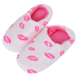 $enCountryForm.capitalKeyWord UK - Oeak Winter Warm Slippers Women Soft Cotton Cow Print House Indoor Flats Shoes Home Slippers Bedroom Couple Floor Shoes 2018