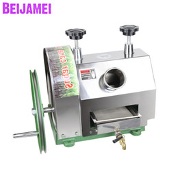caning machine NZ - BEIJAMEI Stainless steel commercial Sugar cane juicer Extractor Hand-operated manual sugar cane juicer making machine price