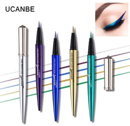 Best Color Pen Australia - Original Brand 5 Color Long Lasting Glitter Liquid Eyeliner Pencil Easy To Wear Eye Liner Pen Makeup Waterproof Best Eye Liner Pen Cosmetic