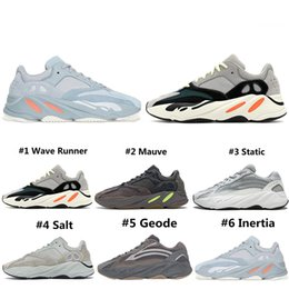 cheaper running shoes Canada - Cheaper New Salt Wave Runner 700 Running Shoes For Men Women Geode Static Mauve Inertia Cement 700s Trainers Designer Sports Sneakers 36-45