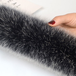 $enCountryForm.capitalKeyWord NZ - Winter Real Fox Fur Collar Natural Fur Collar 70cm longth Genuine Fur Scarf D19011003