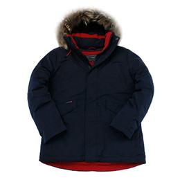 Wholesale mens raccoon fur coats resale online – 2019 New Winter Jacket Men Parka Winter Coat Padded Jackets Real Raccoon Fur Thick Hooded Mens Parkas Veste Homme Hiver