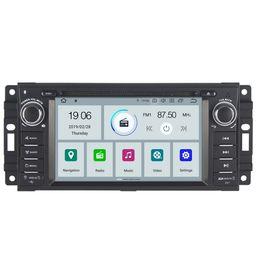Rw Player Australia - COIKA Android 9.0 2+16G RAM Car DVD Multimedia Player For Jeep Commander Compass Grand Cherokee Dodge GPS Navi 4G SWC WIFI OBD DVR