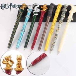 favor pens Australia - 8styles Harry Potter series magic pen ballponit pen magic performance props Gryffindor Academy collection gift party favor FFA3112