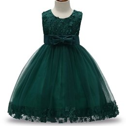 $enCountryForm.capitalKeyWord UK - 2-9t Baby Frocks Party Wear 2017 Fashion Party Dress Infant Princess Deguisement With Bow Children Party Frock Girls Dresses Y190515