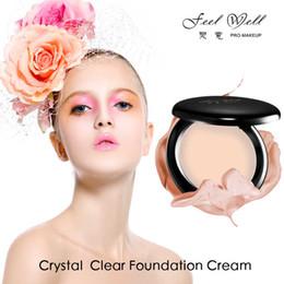 Oils For Skin Australia - Feel Well New Face Makeup Concealer Oil-control Foundation Cream For Dark Skin Base Long Lasting Contour Makeup