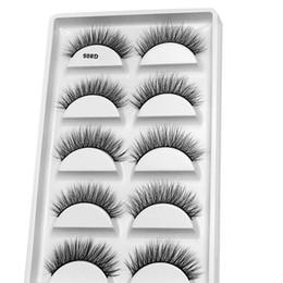 $enCountryForm.capitalKeyWord Australia - 5 Pairs 3d Mink Lashes Handmade False Eyelashes Reusable Natural Eyelashes Popular False Lashes Makeup