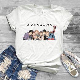 $enCountryForm.capitalKeyWord Australia - The 2019 New Summer Superheroes T Shirt Friends Ladies Fit Kroean Top Funny Graphic Game T-Shirt Unisex
