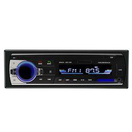 Vente en gros HMOCNV Lecteur multimédia Hôte Auto Voiture Stéréo Audio Au tableau de bord FM Entrée Aux Récepteur USB MP3 WMA Radio Player