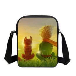 Chinese  The Little Prince Printing Schoolbags for Kids Boys Girls 3D Printing Shoulder Bag Small Crossbody Book Bags manufacturers