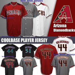 paul goldschmidt jersey 2019 - Diamondbacks Jersey 44 Paul Goldschmidt Jersey 51 Randy Johnson Arizona Coolbase Jersey discount paul goldschmidt jersey
