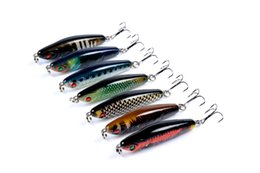 Wholesale Tuna Lures Australia - High Quanlity Sinking Diving Pencil fishing bait 6cm 10.3g Realistic Painted Tuna hard bait Longcasting fishing lure