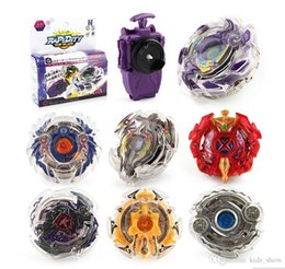 spin gyro metal NZ - Kids Gyro Toys Spinning Top Beyblade BURST B-23 With Launcher And Original Box Metal Plastic Toys Fusion 4D Gift Toys
