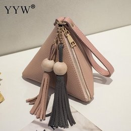 630e9ef0d3 Large Shaped Beads Australia - YYW Hot Women Leather Handbags Tassels Clutch  Bag 2018 Fashion Mini