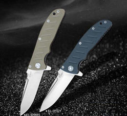 $enCountryForm.capitalKeyWord Australia - NEW TOP GRADE OEM Enlan EL-01KH folding knife 8CR13Mov blade G10 handle 58-60 hardness camping outdoor pocket EDC tools wholesale price