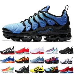 $enCountryForm.capitalKeyWord Australia - 2019 New Tn Plus Running Shoes Men Women Game Royal Rainbow Bleached Aqua Triple White Black Fades Blue Volt Trainer Designer Sneakers