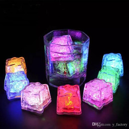 $enCountryForm.capitalKeyWord NZ - Led Lights Polychrome Flash Party Lights LED Glowing Ice Cubes Blinking Ice Cubes Light Up Party Decoration