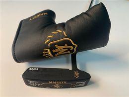 Опт Maruman Majesty SPI-3 Putter Maruman Majesty SPI-3 Golf Putter Гольф-клубы для гольфа 33/34/35 дюймовый стальной вал с крышкой головки