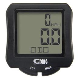 $enCountryForm.capitalKeyWord Australia - SUNDING Bike Computer Speedometer Waterproof Bicycle Odometer Cycle Computer Multi-Function LCD Back-Light Display #738423
