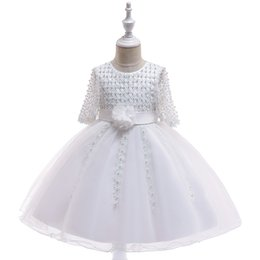 Photos birthday online shopping - Newest Tulle Princess Tutu Flower Girls Dresses Baby Kids Toddler Clothes for Wedding Birthday Party Sweet Lovely Girls Dresses